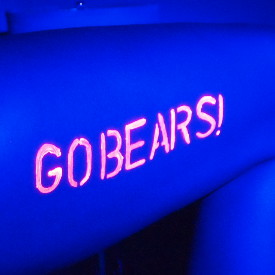 GLOWING WITH BEARS PRIDE!