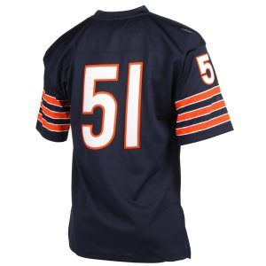 Chicago Bears Dick Butkus Mitchell & Ness  Authentic Throwback Jersey