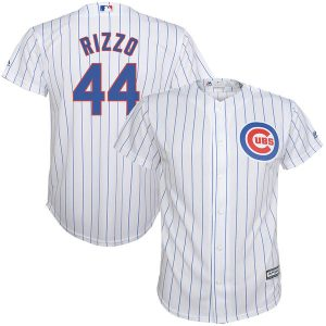 Anthony Rizzo Chicago Cubs Majestic Youth Home Official Cool Base Player  Jersey 57f497ea1