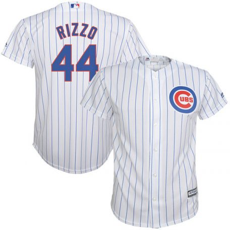 Anthony Rizzo Chicago Cubs Majestic Youth Home Official Cool Base Player Jersey