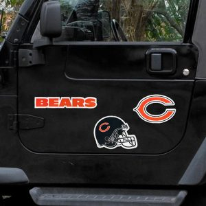 "Chicago Bears 12"" Helmet Magnet Sheet"