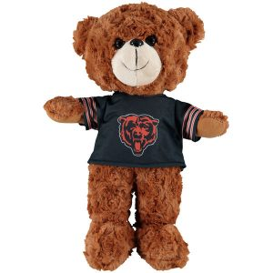 Chicago Bears 14″ Fuzzy Uniform Bear