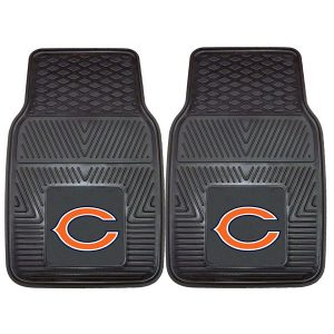 Chicago Bears 27″ x 18″ 2-Pack Vinyl Car Mat Set