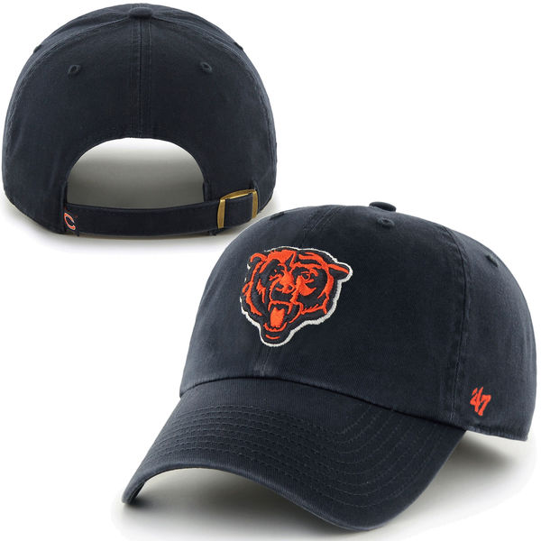 44bd8145d Chicago Bears  47 Brand Cleanup Adjustable Hat – Chicago Sports Shop