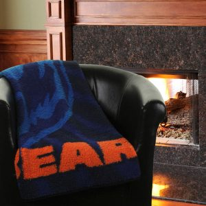 Chicago Bears 50″ x 60″ Strobe Sherpa Blanket