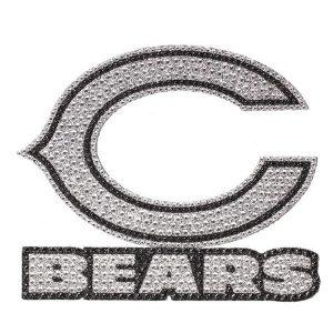 Chicago Bears Bling Emblem Car Decal