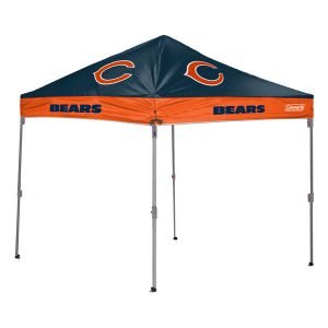 Chicago Bears Coleman 10′ x 10′ 2-Tone Straight Leg Canopy