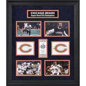 Chicago Bears Fanatics Authentic Framed Super Bowl XX Photograph Collage
