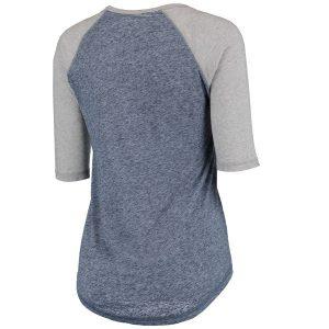 Chicago Bears Majestic Women's Plus Act Like a Champion 1/2 Sleeve Raglan T-Shirt