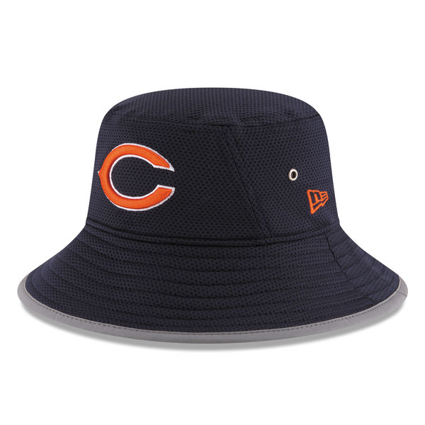 Chicago Bears New Era 2016 On Field Training Camp Bucket Hat ... a7ec2cdfb611