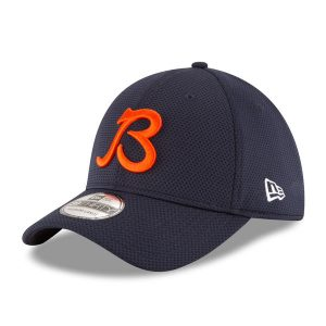 Chicago Bears New Era 2016 Sideline B Logo Tech 39THIRTY Flex Hat