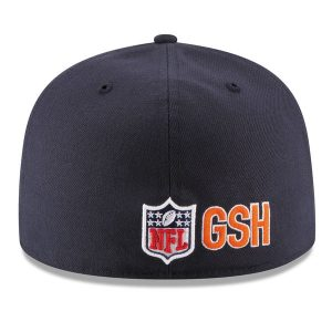 Chicago Bears New Era 2016 Sideline Official B Logo 59FIFTY Fitted Hat