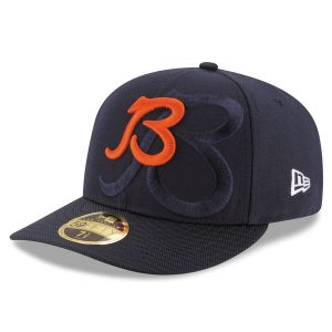 Chicago Bears New Era 2016 Sideline Official Low Profile 59FIFTY Fitted Hat f99fb4948624
