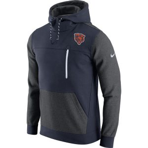 Chicago Bears Nike AV15 Historical Fleece Pullover Hoodie