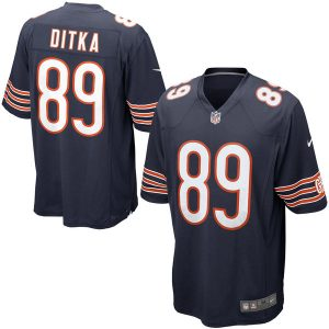Chicago Bears Nike Mike Ditka Retired Player Game Jersey