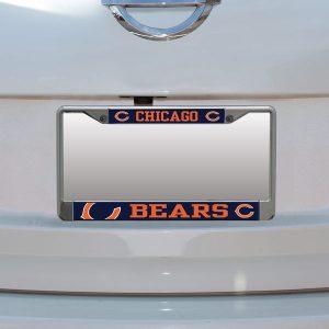 Chicago Bears Small Over Large Mega License Plate Frame