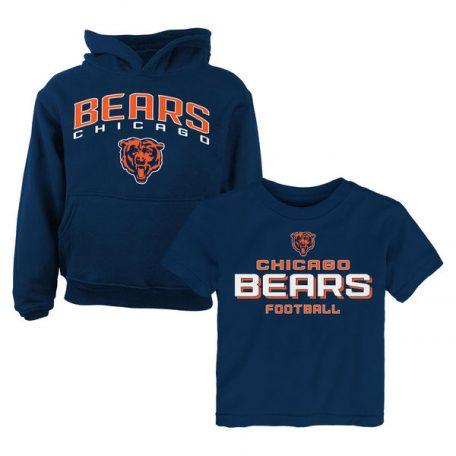 Chicago Bears Toddler T-Shirt & Hoodie Set
