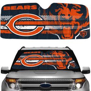 Chicago Bears Universal Auto Sun Shade