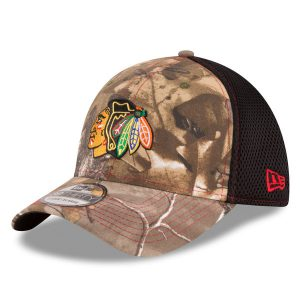 Chicago Blackhawks New Era Neo 39THIRTY Flex Hat
