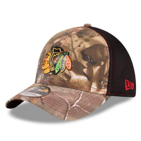 Chicago Blackhawks New Era Neo 39THIRTY Flex Hat