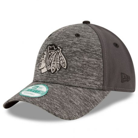 Chicago Blackhawks New Era The League Shadow 9FORTY Adjustable Hat