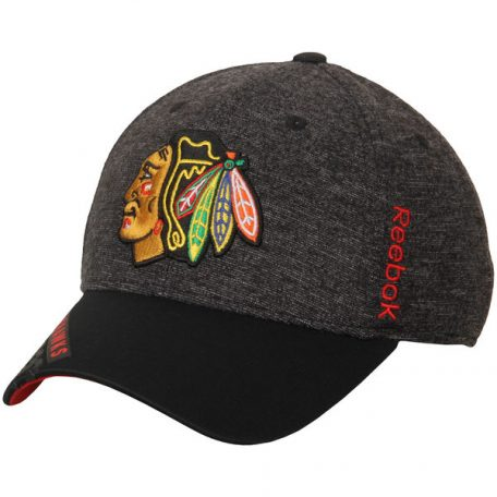 Chicago Blackhawks Reebok Playoff Structured Flex Hat