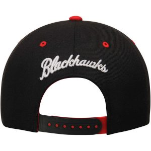 Chicago Blackhawks Zephyr Z11 Snapback Throwback Logo Adjustable Hat