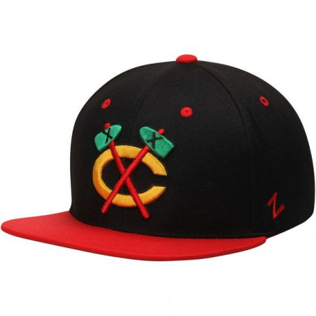 Chicago Blackhawks Zephyr Z11 Snapback Throwback Logo Adjustable Hat