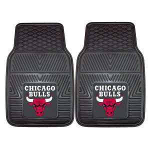 Chicago Bulls 27″ x 18″ 2-Pack Vinyl Car Mat Set