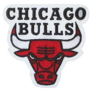Chicago Bulls Embroidered Team Logo Collectible Patch