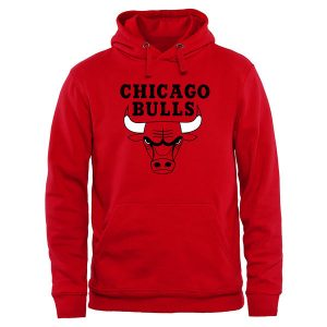 Chicago Bulls Primary Logo Pullover Hoodie