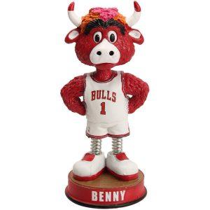 Chicago Bulls Springy Legs Mascot Bobblehead