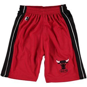 Chicago Bulls Youth Hardwood Classics Synthetic Panel Shorts