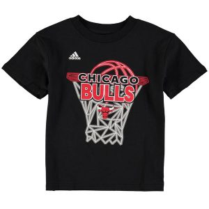 Chicago Bulls adidas Preschool 3D Net T-Shirt