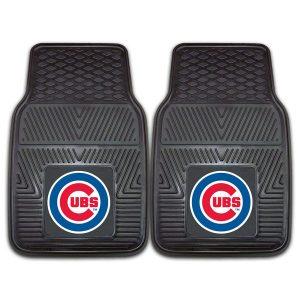 Chicago Cubs 27″ x 18″ 2-Pack Vinyl Car Mat Set