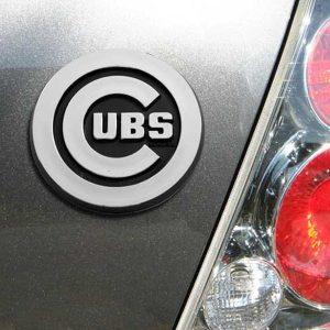 Chicago Cubs Auto Emblem