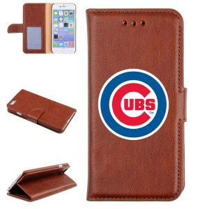 Chicago Cubs Baseball Glove Leather Cellular Phone Holder
