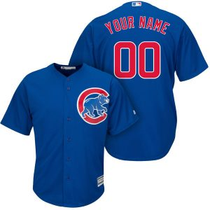 Chicago Cubs Majestic Cool Base Custom Jersey
