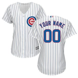 Chicago Cubs Majestic Women's Cool Base Custom Jersey