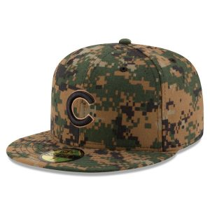 Chicago Cubs New Era 2016 Memorial Day 59FIFTY Fitted Hat