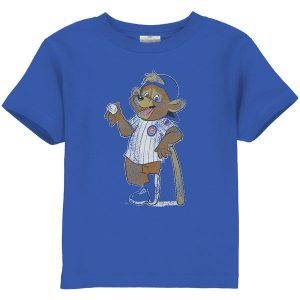 Chicago Cubs Toddler Distressed Mascot T-Shirt