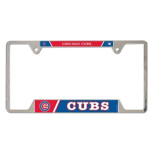 Chicago Cubs WinCraft Metal License Plate Frame