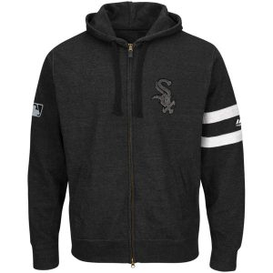 Chicago White Sox Majestic Authentic Collection Clubhouse Fashion Full-Zip Hoodie