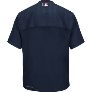 Chicago White Sox Majestic On-Field Training Short Sleeve Half-Zip Jacket