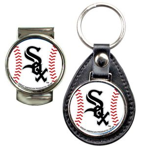 Chicago White Sox Money Clip & Keychain Set