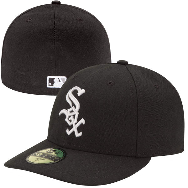 Chicago White Sox New Era Authentic Collection Low Profile Home 59FIFTY  Fitted Hat b292e53164