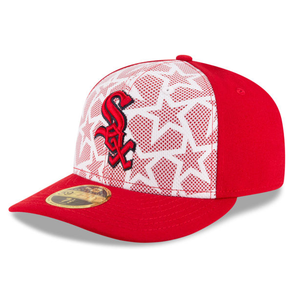 Chicago White Sox New Era Stars   Stripes Low Profile 59FIFTY Fitted ... 379771760b7