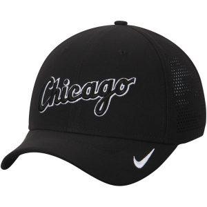 Chicago White Sox Nike Vapor Classic Swoosh Performance Flex Ha