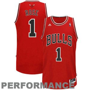 Derrick Rose Chicago Bulls adidas Swingman Road Jersey