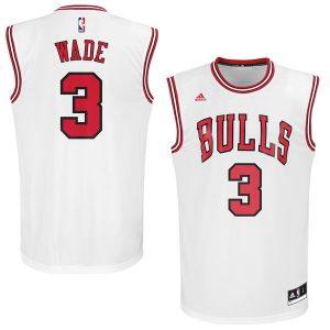 Dwyane Wade Chicago Bulls adidas Replica Jersey